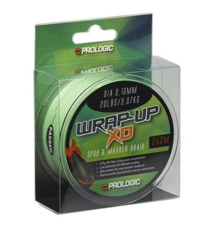 Prologic Wrap-Up AR - Spod & Marker Braid 0.26mm 35lbs/15.9kg 250m (64119)