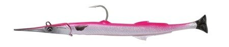 Savage Gear 3D Needlefish Pulsetail 2+1 18cm 26g Pink Silver (69701)